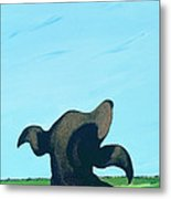 Bronze Profile #2, 1997 Metal Print
