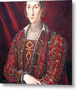 Bronzino's Eleonora Di Toledo Metal Print