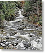 Brook In October Metal Print