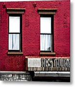 Brooklyn Bar Metal Print