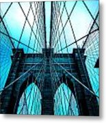 Brooklyn Blues Metal Print