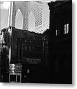 Brooklyn Bridge 1970 Metal Print