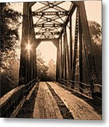 Brooklyn Bridge 3 Metal Print by JC Findley