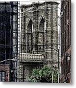 Brooklyn Bridge 7 Metal Print