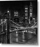 Brooklyn Bridge New York Metal Print