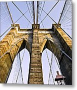 Brooklyn Bridge01 Metal Print