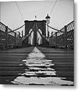 Brooklyn Lines Metal Print by Michael Murphy