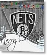 Brooklyn Nets Metal Print by Joe Hamilton