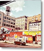 Brooklyn - New York City - Williamsburg Metal Print