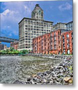 Brooklyn Old Tobacco Warehouse Metal Print