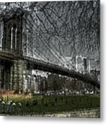 Brooklyn Shakes Metal Print