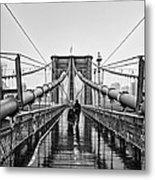 Brookyln Bridge  Metal Print