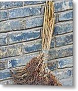 Broom, China Metal Print