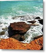 Broome Breaks Metal Print