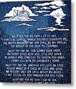 Brotherhood Of The Sea Metal Print