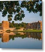 Broughton Castle Metal Print