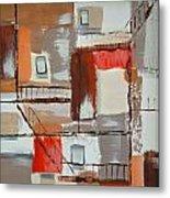 Brown Alley 1 Metal Print