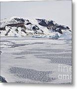Brown Bluff, Antarctica Metal Print
