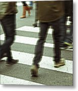 Brown Boots Metal Print