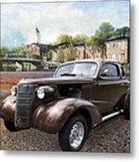 Brown Classic Collector Metal Print