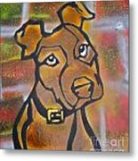 Brown Dog Metal Print