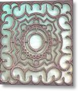 Brown Metal Colors. Metal Print