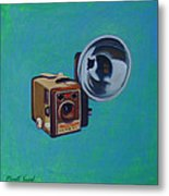 Brownie Box Camera Metal Print