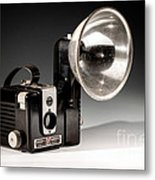 Brownie Hawkeye Metal Print