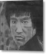 Bruce Lee Metal Print by Terence Leano