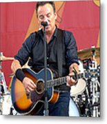 Bruce Springsteen 11 Metal Print