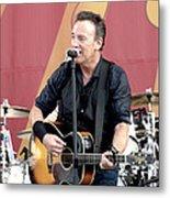 Bruce Springsteen 12 Metal Print