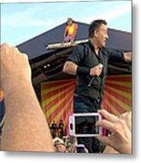 Bruce Springsteen 15 Metal Print