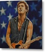 Bruce Springsteen 'born In The Usa' Metal Print