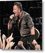 Musician Bruce Springsteen Metal Print