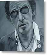 Bruce Springsteen IIi Metal Print by David Dunne
