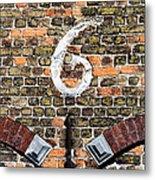 Brugge Detail Metal Print