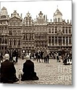 Brussel's Trance Metal Print by Donato Iannuzzi