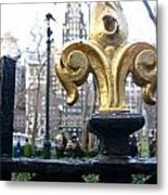 Bryant Park Metal Print by Amy  Renne