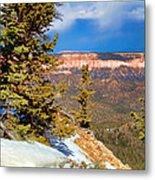 Bryce Canyon Cliff Shot 4 Metal Print