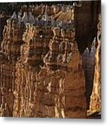 Bryce Canyon National Park Hoodo Monoliths Sunset From Sunrise P Metal Print