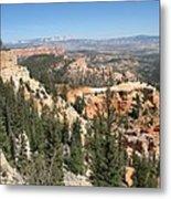 Bryce Canyon Overlook Metal Print