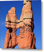 Bryce Canyon Rock Formation Metal Print