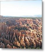 Bryce Canyon Scenic Overlook Metal Print