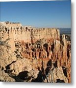 Bryce Canyon Scenic View Metal Print