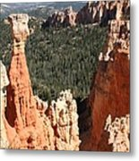 Bryce Canyon - Thors Hammer Metal Print