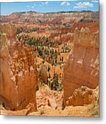 Bryce Canyon Valley Walls Metal Print