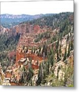 Bryce Canyon View Metal Print