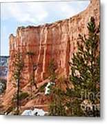 Bryce Curved Formation Wall Metal Print
