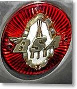Bsa Badge Metal Print