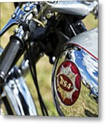 Bsa Rocket Gold Star Motorcycle Metal Print